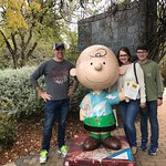 What a neat place to tour! I love Charlie Brown and the peanuts gang.