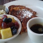 Vegan/Gluten-Free French Toast w/ side of fruit