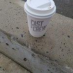 my take away coffee
