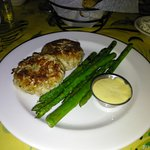 Crab Cakes with Asparagus