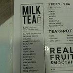 Drinks: Milk Tea