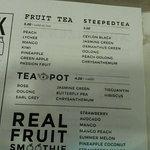 Drink: Fruit Tea and Tea Pot