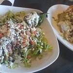Goat cheese jalapeno and the carnitas tamale