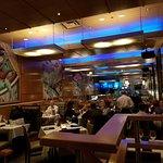Great atmosphere inside the restaurant