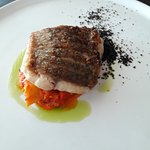 Main course, semi-buffet lunch - Grilled Barramundi