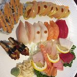 "My ""Regular Sushi/Sashimi Platter."""
