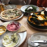 Dips, Pizza and Paella