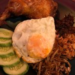 Nasi Lemak - Coconut rice with hot relish