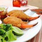 Crumbed Crab Claws