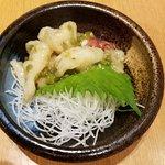 Homemade Wasabi-Marinated Octopus