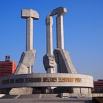 Monument in Pyongyang
