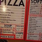 ピザ スライスの写真