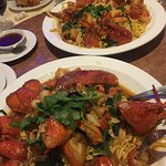 Lobster with E-Fu Noodles