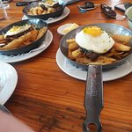 this is the tapas egg and stake isa very delcious meal to have