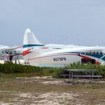 two seaplanes at Fort Jefferson