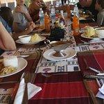 Dinning at Murchison Falls