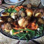 Beef & Chicken platter for 4