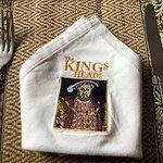 Hings Head napkin