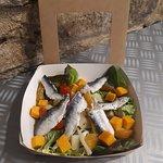 salade aux filets de sardines