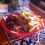 Wings and chips