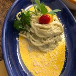 What an awesome trattoria! Brilliant unpretentious fresh seasonal Italian food. Great music. Att
