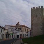 Road round castle