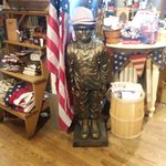 Large store with vintage replicas, housewares,  collectibles, games, and toys for the kids.