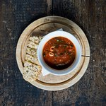 MINESTRONE SOUP WITH FRESHLY MADE FOCACCIA