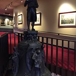 Accompanying statue