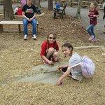 Digging for dinosaur bones