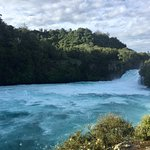 Huka Falls tracks Foto
