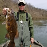"20+"" 4+ pound New River Smallie"
