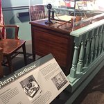 Inside the Museum - Andy's Courtroom Desk