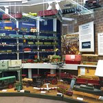 Toy trains, cars and other toys