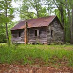 The one-room schoolhouse at Old Cahawba