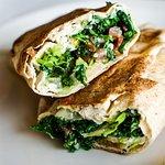 Hummus Tabouli Garden Roll