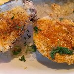 Baked oysters (1/2doz) : Chicago Style