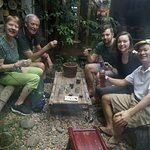 With a local Potter in Bat Trang