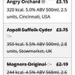 Aspalls no longer available  Not on App on draught either ☹☹