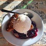 Boysenberry Pie a la mode ;)