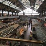 Huge indoor Market