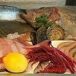 bodegón de marisco y perscados