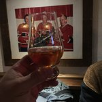 Enjoying some Bourbon with the Habs