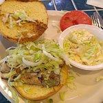 Griller Grouper sandwich.