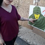 Glock shooting went pretty well as for the first time ever ^^