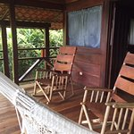 Super relaxing porch for your cabin