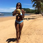 Me by Sakatia island, Ampasoa beach close to the rastuarant