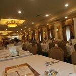 Inside Zehnder's Restaurant