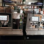 Coffee machines instead of brewing coofffee