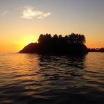 Sunset near Ucluelet Harbour